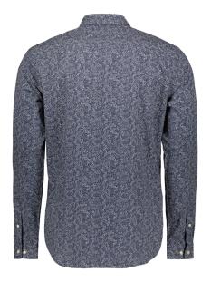jprblackpool shirt l/s au19 sts 12158434 jack & jones overhemd navy blazer/slim fit