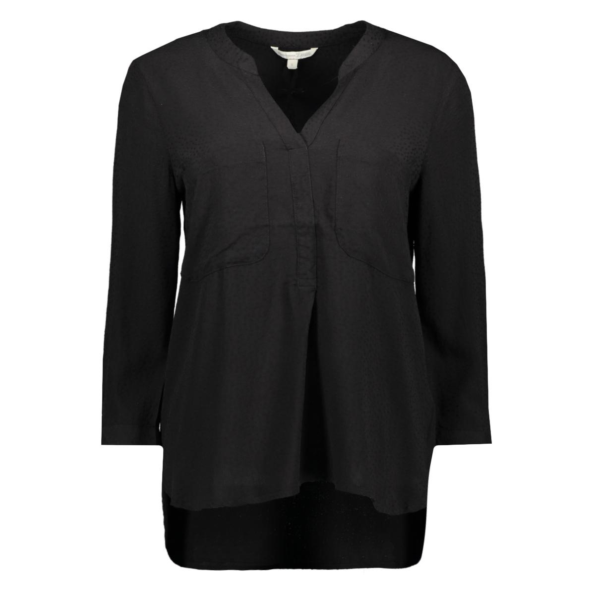 blouse met borstzak 1012607xx71 tom tailor blouse 14482