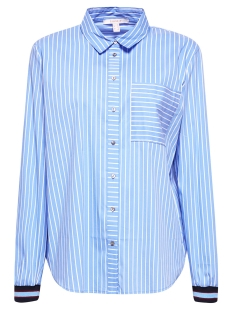 blouse met contraterende boordjes 089ee1f008 esprit blouse e440