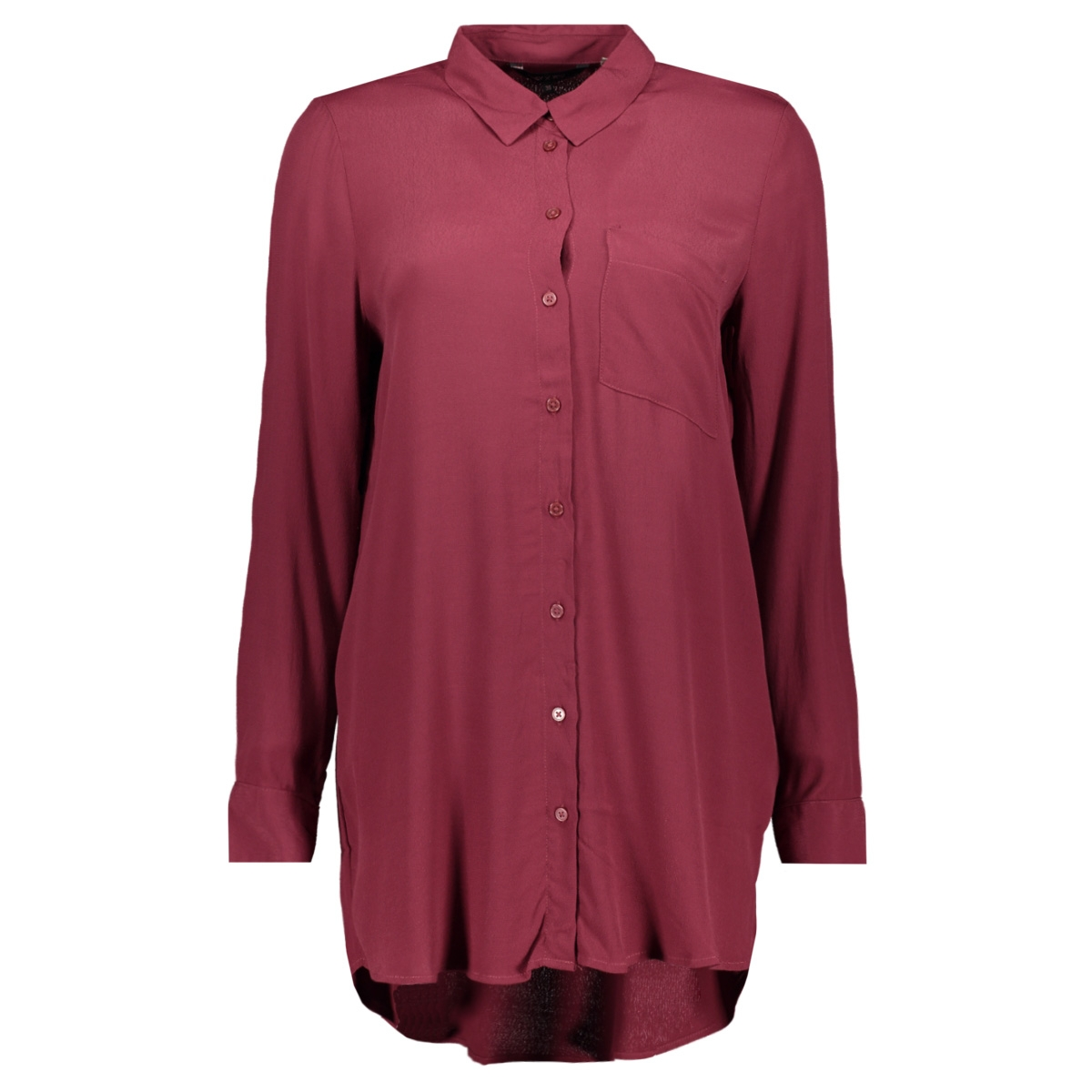 onynara ls shirt wvn 15186944 only blouse chocolate tuffle