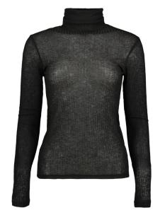 Pieces T-shirt PCHENNIE LS ROLLNECK TOP 17098673 Black