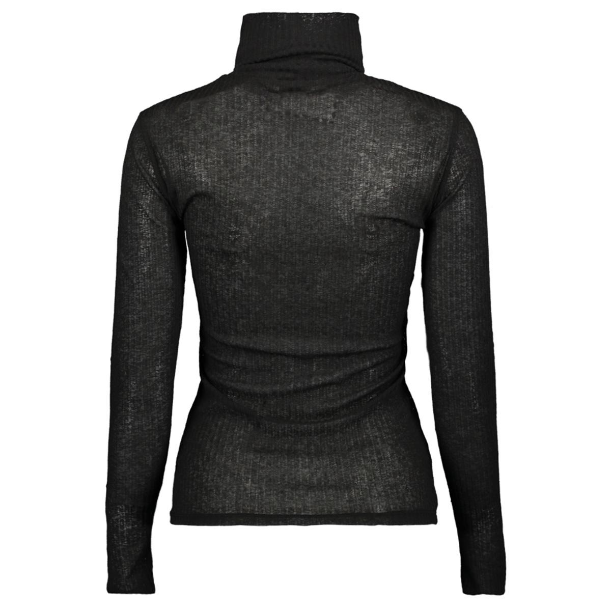 pchennie ls rollneck top 17098673 pieces t-shirt black