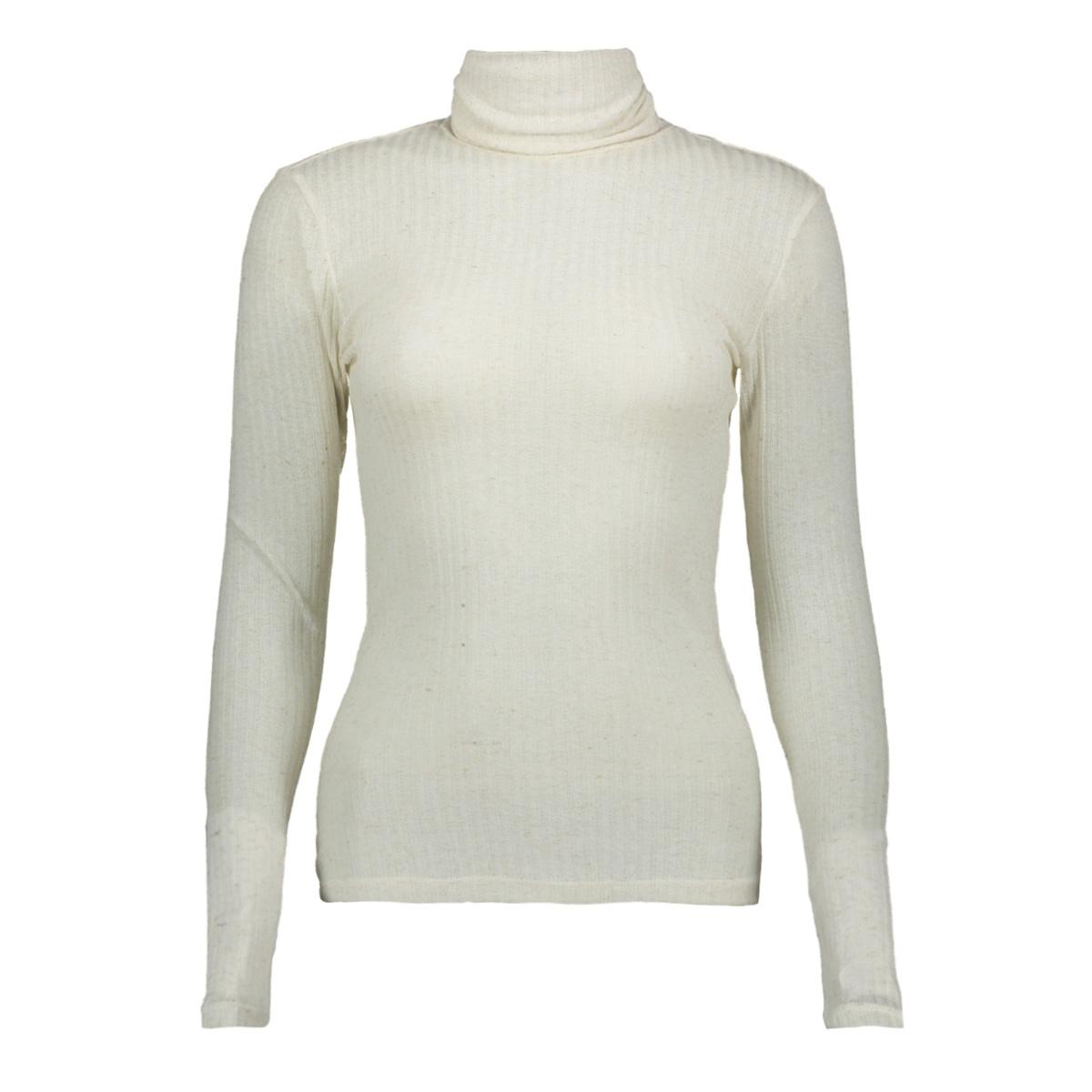 pchennie ls rollneck top 17098673 pieces t-shirt white pepper