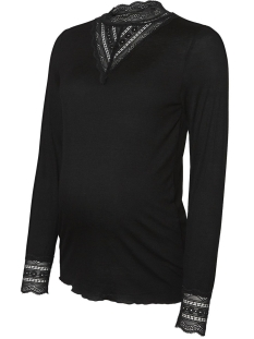 Mama-Licious Positie shirt MLREESE L/S JERSEY TOP A. 20010971 Black
