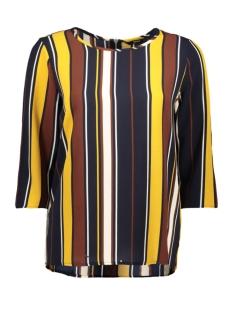 onlnova 3/4 sleeve top aop lux 7 wv 15187418 only t-shirt night sky/summer str