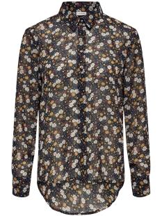 jdyminna l/s shirt wvn 15180661 jacqueline de yong blouse sky captain/ditsy flow