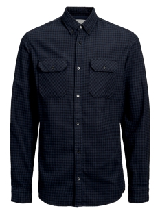 Jack & Jones Overhemd JCORUSSEL SHIRT LS WORKER 12157792 Sky Captain/SLIM