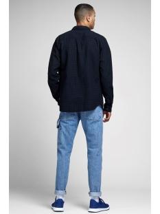 jcorussel shirt ls worker 12157792 jack & jones overhemd sky captain/slim