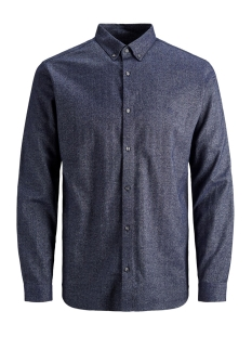 Jack & Jones Overhemd JPRLOGO TWIST SHIRT L/S STS 12158301 Navy Blazer/SLIM FIT
