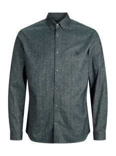 Jack & Jones Overhemd JPRLOGO TWIST SHIRT L/S STS 12158301 Darkest Spruce/SLIM FIT