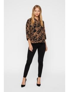 vmprosecca 3/4 shirt 10219864 vero moda blouse tobacco brown/prosecca a