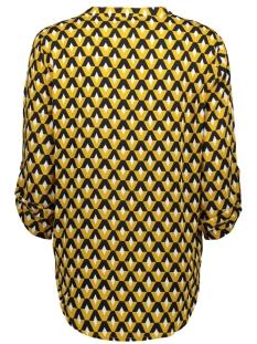 jdyniko 3/4  shirt wvn 15183949 jacqueline de yong blouse harvest gold/geometric
