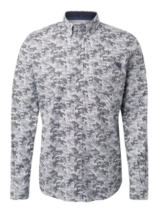 Tom Tailor Overhemd OVERHEMD MET ALLOVER PRINT 1013901 XX 10 19806