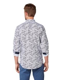 overhemd met allover print 1013901 xx 10 tom tailor overhemd 19806