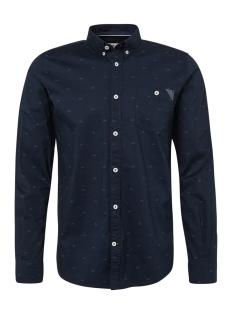 overhemd met allover print 1013901 xx 10 tom tailor overhemd 19813