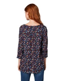 tuniek van viscose crepe 1014111 tom tailor blouse 20081