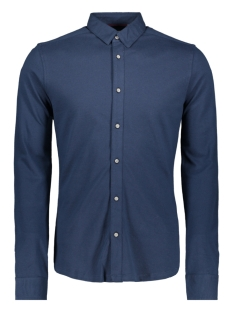 Only & Sons Overhemd ONSCUTON LS KNITTED MELANGE SHIRT R 22009904 Dress Blues