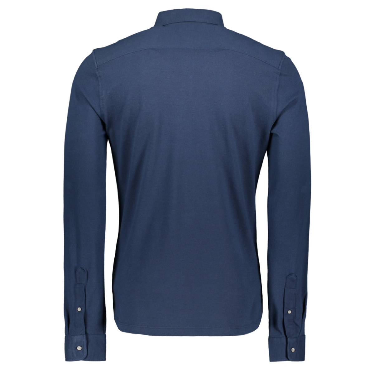 onscuton ls knitted melange shirt r 22009904 only & sons overhemd dress blues