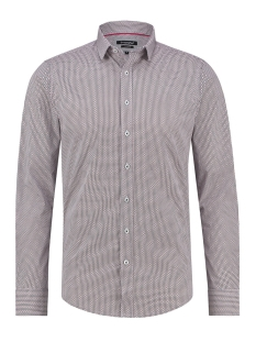 Haze & Finn Overhemd SHIRT AOP STRETCH MC12 0100 11 SIXT AVENUE