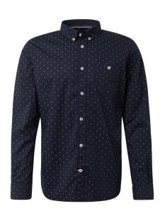 overhemd met allover print 1013896xx12 tom tailor overhemd 19825