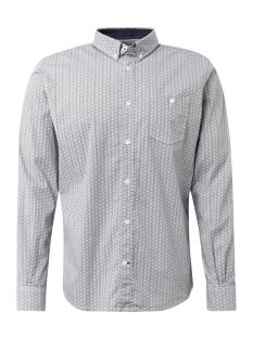 overhemd met allover print 1013896xx12 tom tailor overhemd 19826