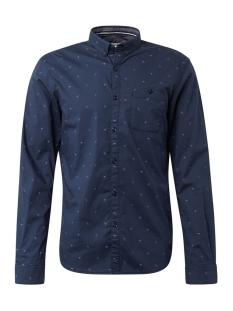 overhemd met allover print 1015844xx12 tom tailor overhemd 19880