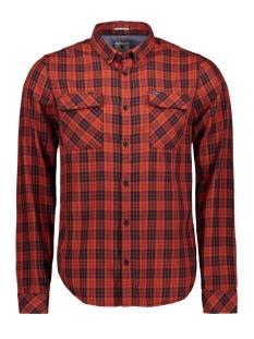 Garcia Overhemd OVERHEMD MET RUITEN I91029 2850 BURNT ORANGE