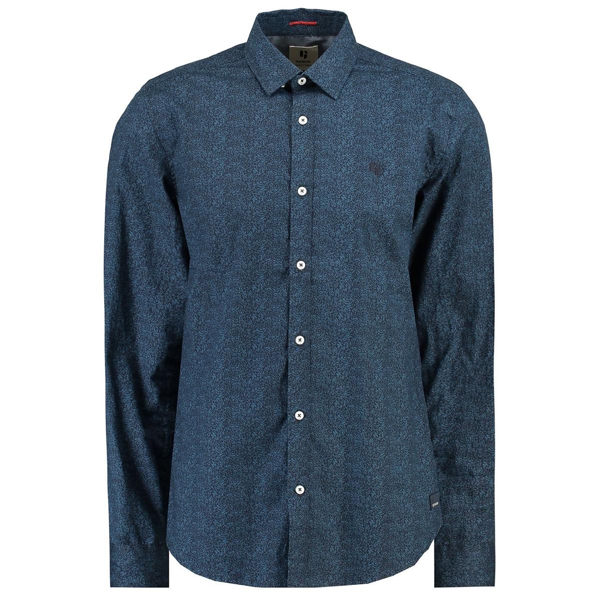 overhemd i91021 garcia overhemd 292 dark moon