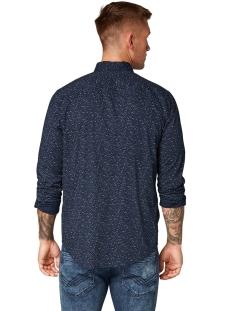 overhemd met all over print 1013526xx10 tom tailor overhemd 19537