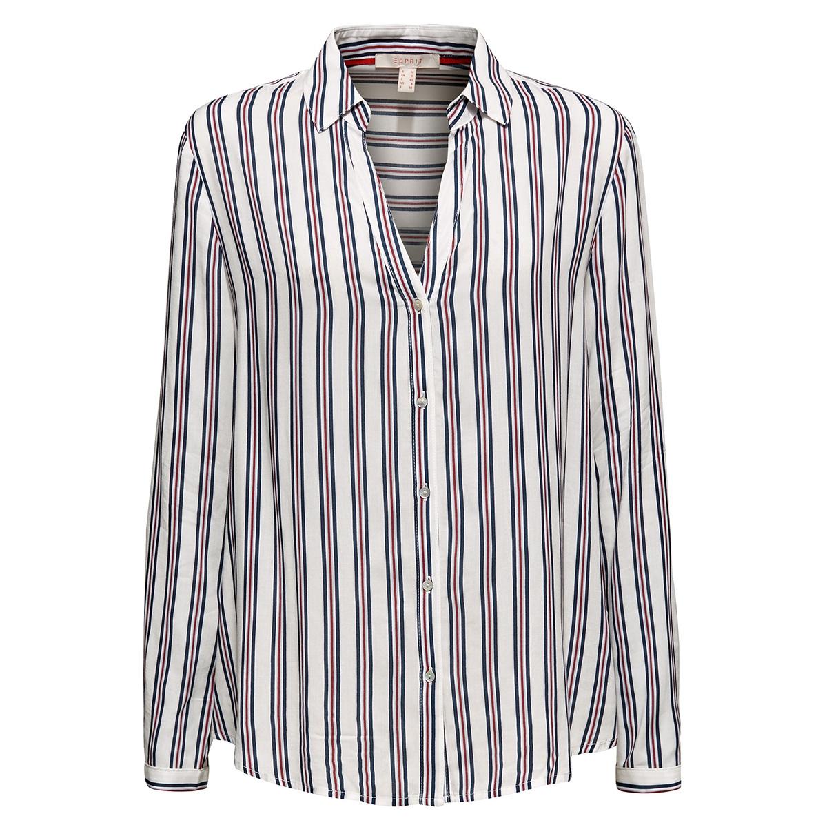 overhemdblouse met strepenprint 099ee1f001 esprit blouse e110
