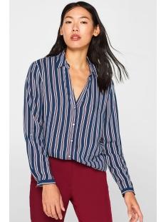 overhemdblouse met strepenprint 099ee1f001 esprit blouse e400
