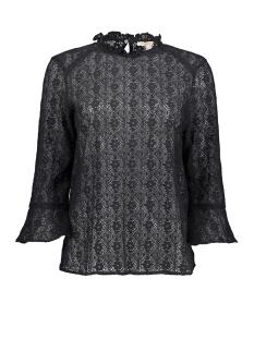 Esprit T-shirt BLOUSEACHTIG SHIRT VAN FIJNE KANT 099EE1F042 E001