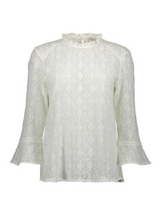 Esprit T-shirt BLOUSEACHTIG SHIRT VAN FIJNE KANT 099EE1F042 E110