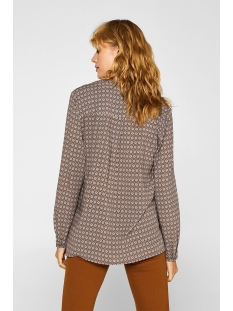 blouse met print en henleyhals 099ee1f003 esprit blouse e620