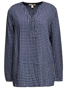 blouse met print en henleyhals 099ee1f003 esprit blouse e400
