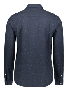 jorbrandon shirt ls org 12155531 jack & jones overhemd navy blazer/slim/solid