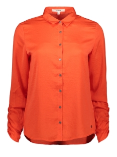 Garcia Blouse BLOUSE MET WRINKLE EFFECT J90230 1220 RED ORANGE