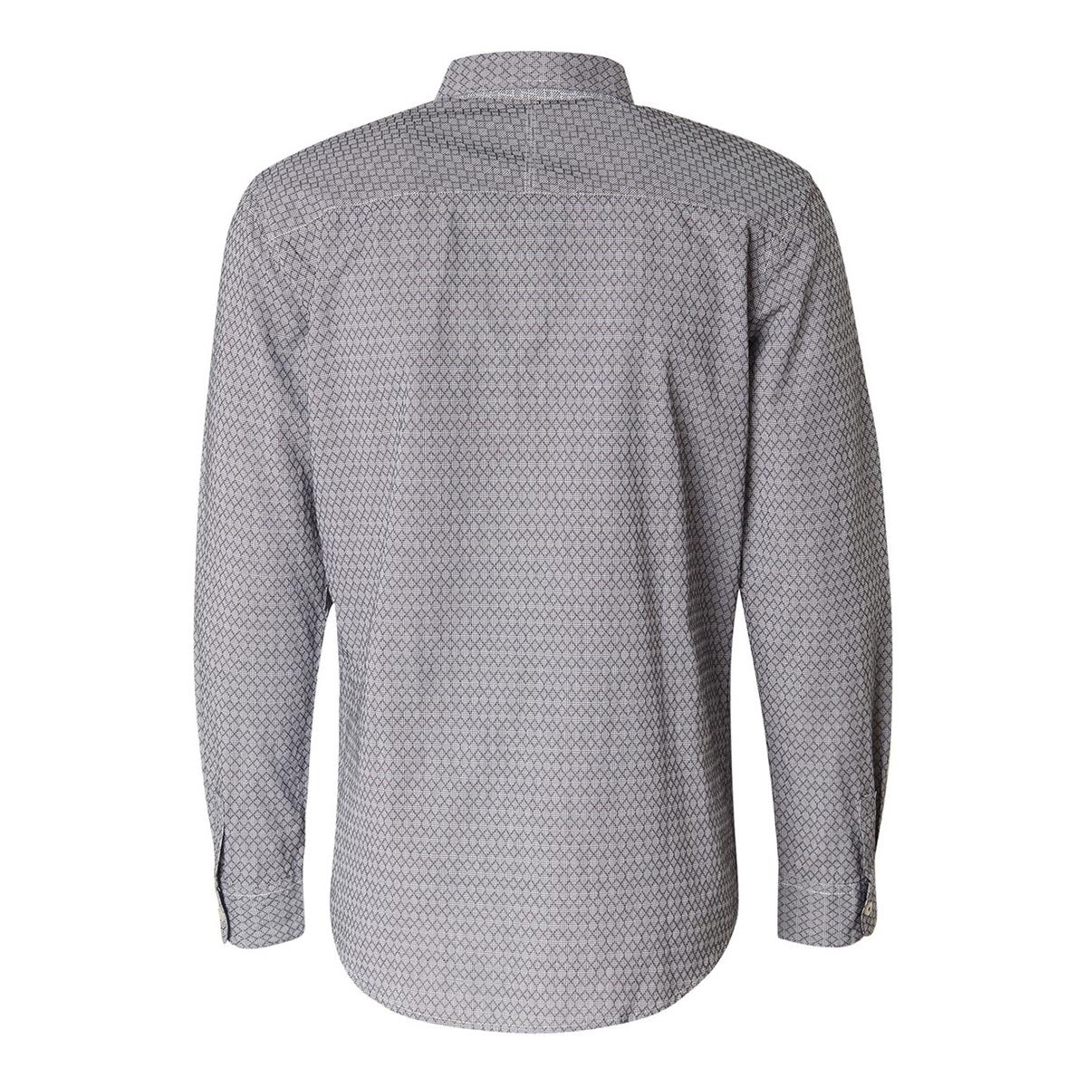 overhemd met patroon 1014475xx10 tom tailor overhemd 20175