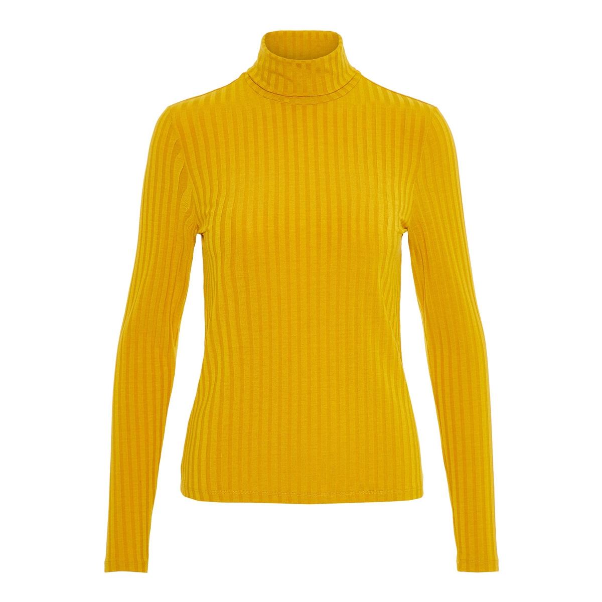 pchaly roll neck ls top 17098590 pieces t-shirt arrowwood