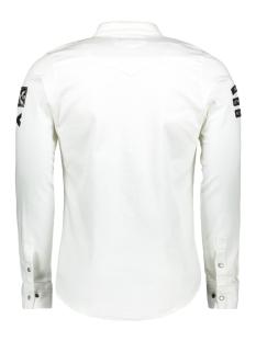 32579 gabbiano overhemd wit