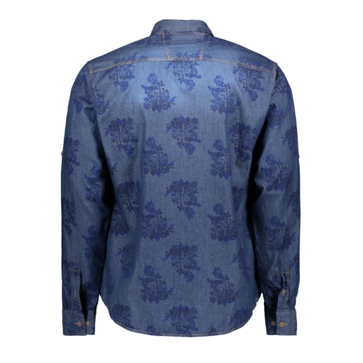 4859 gabbiano overhemd denim