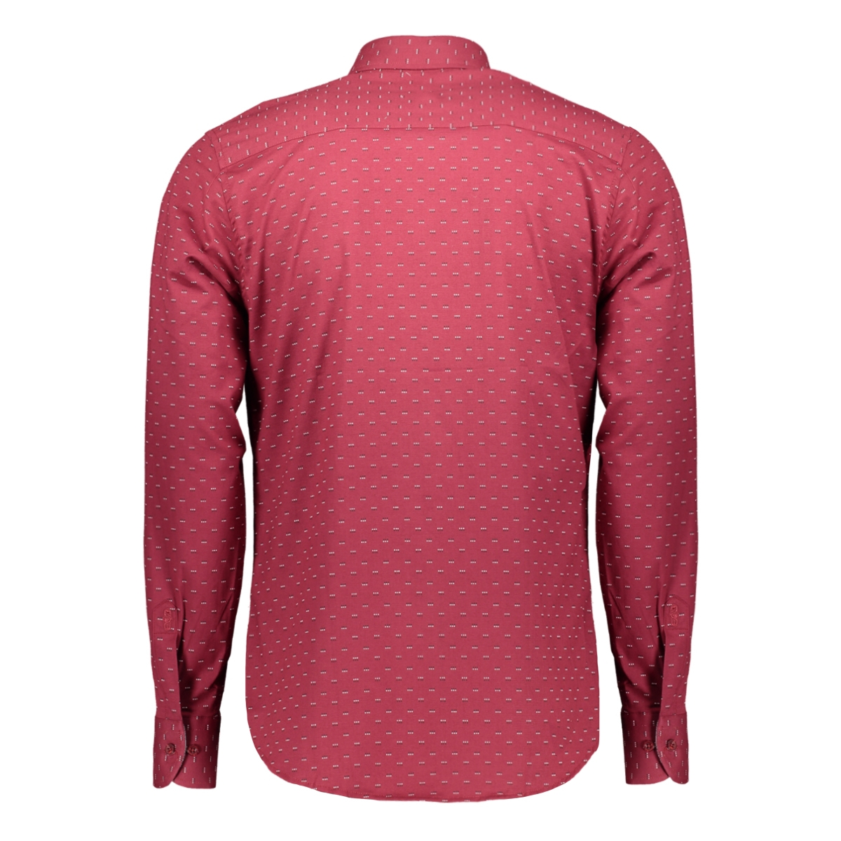 32598 gabbiano overhemd bordo (v1)