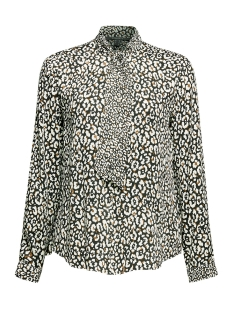 Esprit Collection Blouse BLOUSE MET STRIK EN PRINT 109EO1F010 E001