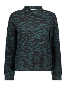 onljoyce l/s shirt wvn 15195726 only blouse ponderosa pine/dandy tiger