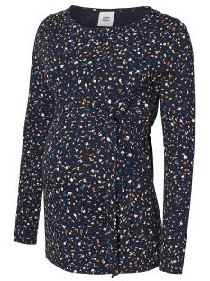 Mama-Licious Positie shirt MLJENN L/S JERSEY  TOP A. 20010339 Salute/AOP