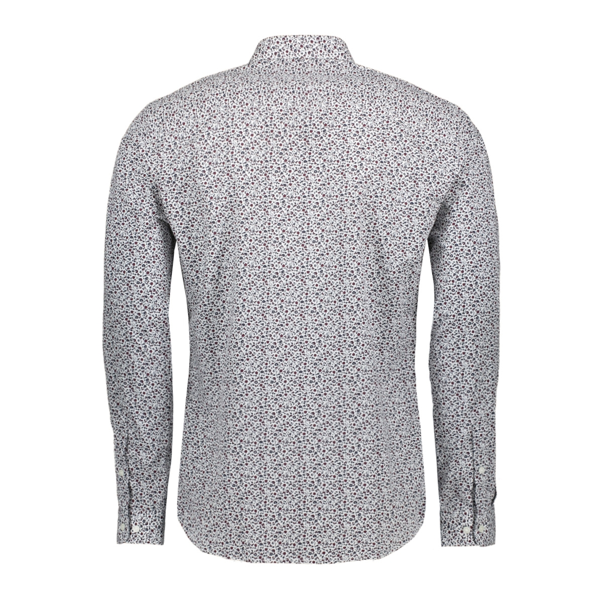jprblackburn shirt l/s w19 12162111 jack & jones overhemd white/slim fit