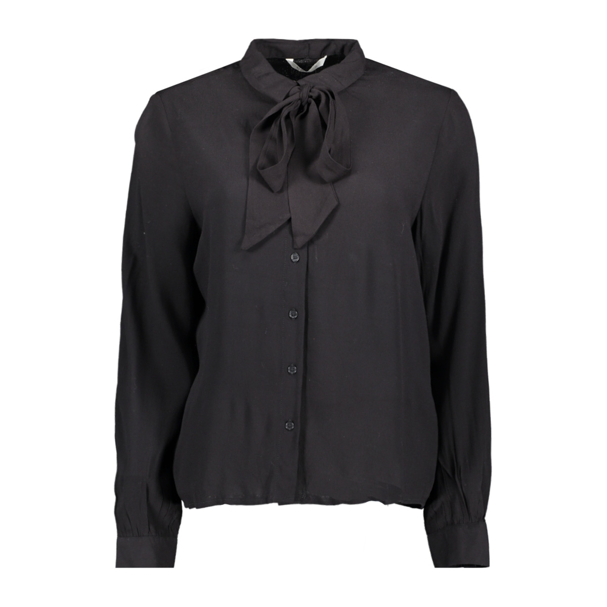 onljoyce l/s bow shirt wvn 15188466 only blouse black