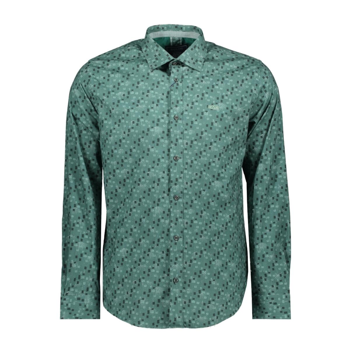 shirt 33817 gabbiano overhemd green