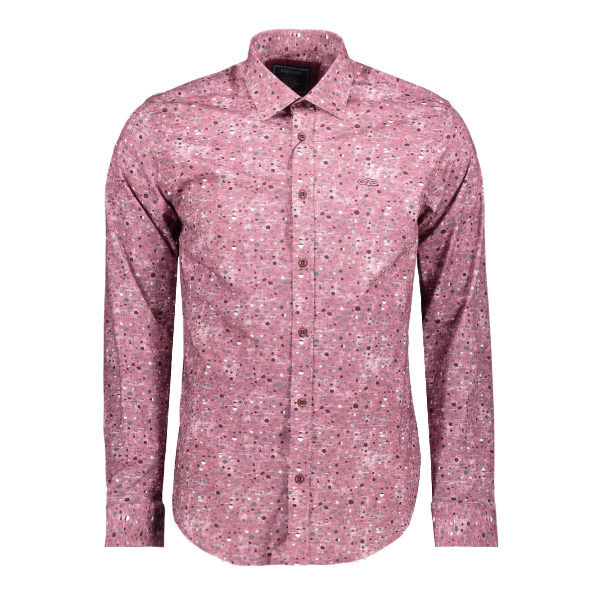 shirt 33819 gabbiano overhemd bordeaux