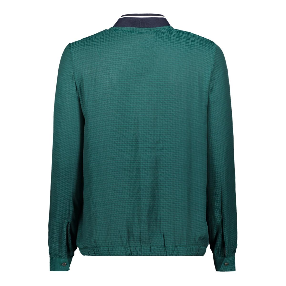 groene blouse met strikdetail j90233 garcia blouse 2366 botanical